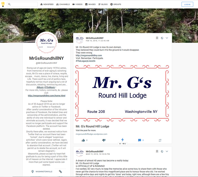 Mr. G's Round Hill Lodge